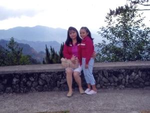 Mariel and Sam in Baguio